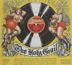 sweedeedee.se - Record sleeves by Robert Crumb