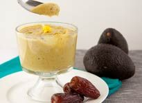 Raw Lemon Pudding (I've made a chocolate pudding using avocados before, and it was amazingly tasty! I've been wondering about coming up with a different flavor. This may be worth trying)