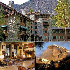 Ahwahnee Hotel (Yosemite) This is such a pretty hotel
