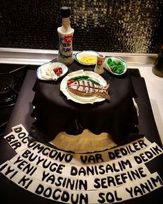 Rakı pasta