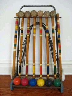 Yard croquet was a favorite in my family.