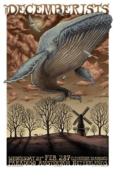 The Decemberists by Aaron Horkey