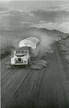 #LandRover, Airstream = a great Australian adventure.