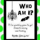"FREE activity gets students questioning which of the 32 ""costumes"" they have on their back - great fame for party day!!"