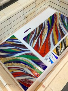 Fused Glass Ornaments, Fused Glass Art, Mosaic Glass, Stained Glass, Glass Artwork, Glass Wall Art, Glass Onion, Heart Hospital, Glass Fusion Ideas