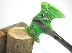 Hair Stick  Mini Hair Axe  Durin   No 96 by OutNumberedNovelties, $41.00