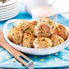 Boulettes de poulet à la courgette - 5 ingredients 15 minutes