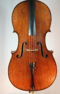 An 1893 labeled David Bittner Cello is available for trial and purchase in our studio.