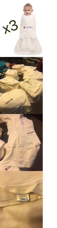 Sleeping Bags and Sleepsacks 100989  Lot Of 3 -Halo Sleepsack Swaddle Nb  0-3 Months Blanket Wrap c51c64251
