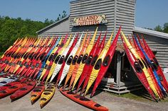 Killarney Outfitters rents 17' expedition sea kayaks.