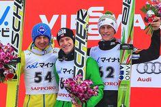 25.01.2015 - Podium PŚ w Sapporo