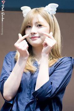 Oh Hayoung ♡ Kpop Girl Groups, Korean Girl Groups, Kpop Girls, Oh Hayoung, Pink Panda, Indian Princess, Fairy Princesses, Fans Cafe, Cube Entertainment