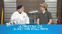 UltraTax CS Myth-Busting Video Series from Thomson Reuters