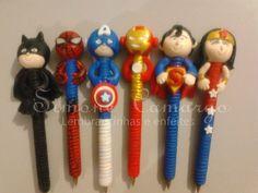 canetas em biscuit frozen - Pesquisa Google
