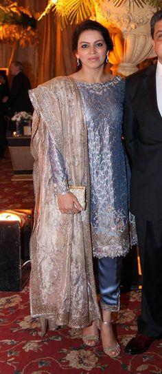 Deena Rahman ensemble. Pakistani Bridal Couture, Pakistani Wedding Outfits, Indian Couture, Bridal Outfits, Pakistani Dresses, Indian Dresses, Bridal Dresses, 15 Dresses, Nice Dresses