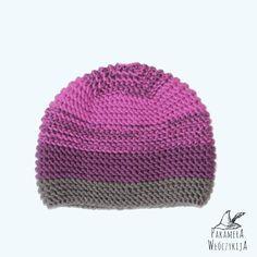 Ciepła fioletowa czapa handmade!  http://pakamera.wix.com/pakamera-wloczykija#!majowy-bez-2/c1rmu