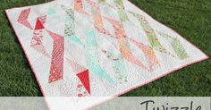 Buttons and Butterflies: Twizzle {Quilt Pattern}