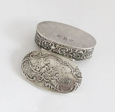 Rare 19th Century Antique Solid Silver Pill by TheGentlemansBlade