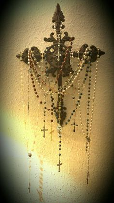 Rosary Display More
