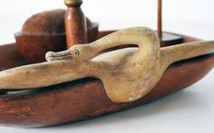folk art sewing tray