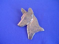Pewter Basenji Head study necklace African Dog Jewelry by Cindy A. Dog Jewelry, Pewter, Insects, Carving, African, Study, Jewellery, Dogs, Stuff To Buy