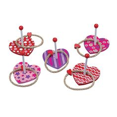 Heart Ring Toss Game - OrientalTrading.com