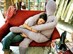 Human Pillow  Who needs one right now? might be a comfort gift for someone who just lost a parent,spouse,child? ?