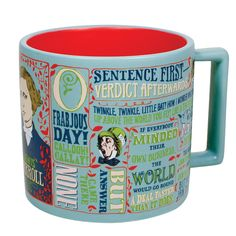 Fans of Alice in Wonderland and the writings of Lewis Carroll will love to curl up with a great book and their favorite hot beverage in this mug! Whimsical, brash and timeless, just like the author himself. Features original artwork, imagery and quotes from Carroll's works, plus an artfully decorative gift box, as pictured.  Microwave […]