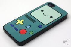 Adventure Time BMO iPhone 5 Case. $15.00, via Etsy.