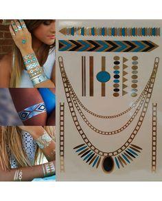 Flash Gold Tattoo Geçici Dövme Altın/Gümüş 49 Son dönemin modası altın ve gümüş desenli flash tattoo gold tattoo geçici dövmeler Leydika.com'da! #flashtattoo #flashtats #dövme #tattoo #altındövme #altindovme #geçicidövme #altın #gümüş #aksesuar #trend #style #fashion #parlakdövme #parlakdovme #moda #gecicidovme #bodrum #cesme #plajmodasi #girlingtattoo #flashtattoos #silvertattoos #temporarytattoos #jewelrytattoos