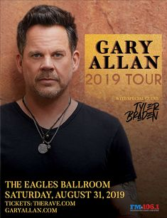 The Rave/Eagles Club/Eagles Ballroom - Live music, concerts, shows, and webcasts from Milwaukee, WI Gary Allan, Country Concerts, Concert Tickets, Special Guest, Live Music, Milwaukee, Eagles, Wisconsin, Rave