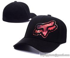 Fox Baseball Caps Curved Hats Black Wine|only US$8.90 - follow me to pick up couopons.