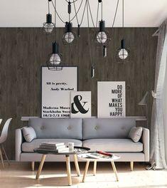 Diseño 7700/5 REDESCUBRIENDO LA MADERA Desde lejos o de cerca, el revestimiento de papel madera vinílico texturado agrega profundidad e integridad a su experiencia interior. Su superficie aporta calidez y estilo a su hogar, creando un acento decorativo en una sala de estar, dormitorio o estudio. Está diseñado para simular la apariencia de las especies mas bellas de los árboles, como álamo, roble, fresno, castaño, ébano. #empapela #empapelados #muresco #argentina #coleccion #walcovering…