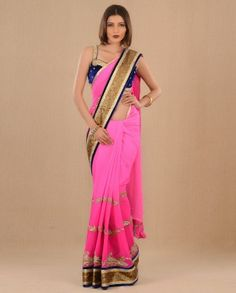 No but this is seriously a hot saree. Other than the fact that it is freaking TWO THOUSAND DOLLARS.