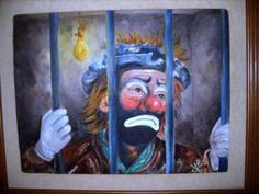 Emmit Kelly Evil Clowns, Scary Clowns, Emmett Kelly, Red Skelton, Clowning Around, People Laughing, A Good Man, Wall Art Decor, Jr