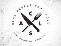 food logo - Google ?? #ChickenHouses Food Logo Design, Logo Food, Logo Restaurant, Logo Branding, Branding Design, Poster Cars, Logos Vintage, Grill Logo, Design Presentation