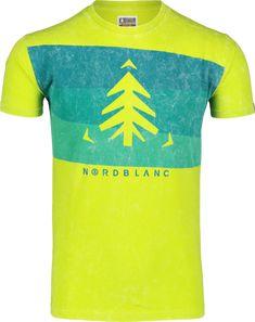 Pánske bavlnené tričko NORDBLANC SCENERY ideálne na celodenné nosenie. Presents, Mens Tops, T Shirt, Shopping, Gifts, Tee, Gifs, Tee Shirt, Gift
