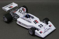 F1 Paper Model - 1975 Ensign N174 Paper Car Free Template Download