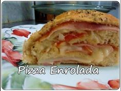 Santa Receita   Aprenda a fazer pizza enrolada gratinada por Júlio Cruz - 22 de Agosto de 2016 - YouTube