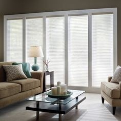 """2"""" Light Filtering Sheer Shades from SelectBlinds.com"""