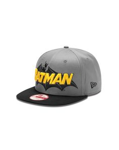 eb72b2d76ec56 New Era Batman Squared Up Snapback Hat Batman Outfits