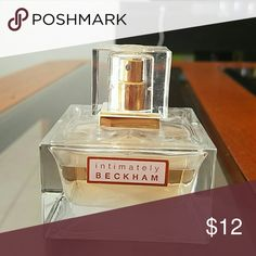 Intimately Beckham perfume Used a little. Light floral, feminine smell. I liked it just have too much perfume right now. Victoria Beckham Makeup