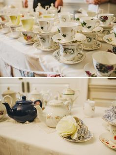 afternoon tea party wedding