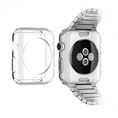 Crystal Clear Silicone Case for Apple Watch - iSpeckCase.com