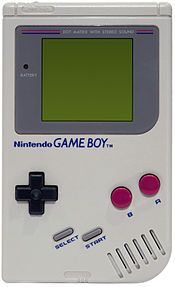 Game Boy.  Sometimes my brother was nice enough to let me play his!