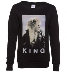 David Bowie as Jareth The Goblin King was some of the best casting ever in our opinion. Pay tribute to the musician/actor with this magnificently regal sweater!