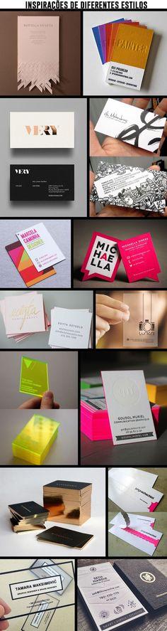 Cartões Pessoais - Essenciais nos relacionamentos profissionais! - Estilo Meu…