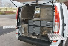 Mercedes Vito Farriers Mobile Workshop