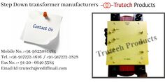 Step Down Transformer order now Step Down Transformer, Isolation Transformer, Transformers