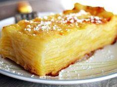 L'invisible aux pommes au Thermomix - Magali Charbonneau - Pint Thermomix Desserts, Köstliche Desserts, Delicious Desserts, Cooking Chef, Cooking Recipes, Sweet Recipes, Cake Recipes, Sweet Cakes, Food And Drink